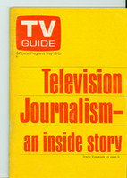 1971 TV Guide May 15 Television Journalism Oregon State edition Excellent - No Mailing Label  [Lt toning along binding, ow clean]