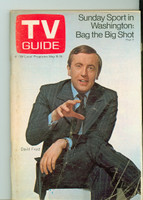 1970 TV Guide May 9 David Frost Southern Ohio edition Very Good - No Mailing Label  [Sl loose at staples, scuffing and creasing on cover; contents fine]
