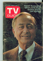 1970 TV Guide June 6 Marcus Welby Wisconson edition Very Good - No Mailing Label  [Staple rust, scuffing and creasing on cover; contents fine]