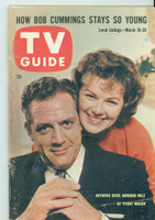 1960 TV Guide Mar 19 Perry Mason Colorado edition Excellent - No Mailing Label  [Lt wear along binding; contents fine]