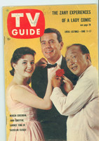 1960 TV Guide Jun 11 Bachelor Father Oregon State edition Excellent - No Mailing Label  [Lt wear on cover, minor WRT on logo, contents fine]