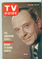 1960 TV Guide Jul 23 John Daly Northern California edition Excellent to Mint - No Mailing Label  [Very lt wear on cover, ow very clean]