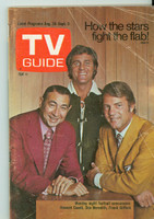 1971 TV Guide August 28 Monday Night Football Wisconson edition Good to Very Good - No Mailing Label  [Heavy creasing on cover, contents fine]