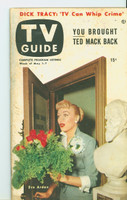1953 TV Guide May 1 Eve Arden of Our Miss Brooks NY Metro edition Very Good - No Mailing Label  [Heavy toning along binding; contents clean]