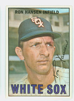 1967 Topps Baseball 9 Ron Hansen Chicago White Sox Near-Mint to Mint
