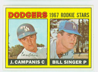 1967 Topps Baseball 12 Dodgers Rookies Near-Mint to Mint