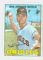 1967 Topps Baseball 38 Bob Johnson Baltimore Orioles Near-Mint to Mint