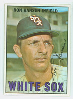 1967 Topps Baseball 9 Ron Hansen Chicago White Sox Near-Mint Plus