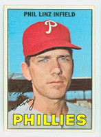 1967 Topps Baseball 14 Phil Linz Philadelphia Phillies Near-Mint