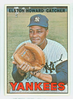 1967 Topps Baseball 25 Elston Howard New York Yankees Near-Mint