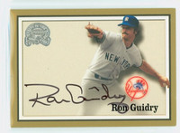 Ron Guidry AUTOGRAPH Fleer Greats of the Game Yankees CERTIFIED   [SKU:GuidR6188_FL00GGce]