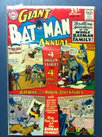 BATMAN #7 ANNUAL Batman Meets Mat-Mite May 64 Very Good to Fine Lt wear, creasing on cover; contents fine