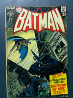 BATMAN #225 Wanted for Murder One, the Batman Sep 70 Good Heavy wear, scuffing and creasing on cover; pencil marks on cover, contents fine