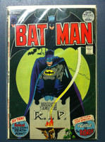 BATMAN #242 Bruce Wayne - Rest In Peace Jun 72 Very Good Wear and creasing on cover, contents fine