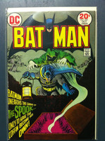 BATMAN #252 The Spook (origin) : The Spook's Master Stroke Oct 73 Very Good to Fine Wear on cover, contents fine