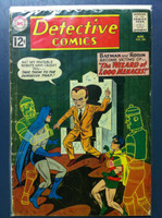 DETECTIVE COMICS ft: BATMAN & ROBIN #306 Prof Arnold Hugo (1st app) : The Wizard of 1,000 Menaces Aug 62 Very Good Heavy wear on cover, creasing, wear along binding; contents fine