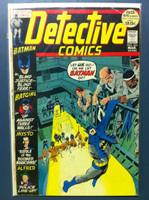 DETECTIVE COMICS ft: BATMAN & ROBIN #421 Blind Justice … Blind Fear Mar 72 Very Good Wear on cover, creasing, wear along binding; contents fine
