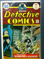 DETECTIVE COMICS ft: BATMAN & ROBIN #446 Slaughter in Silver Apr 75 Very Good to Fine