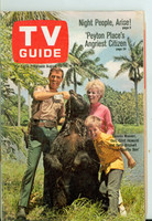 1968 TV Guide Aug 10 Cast of Gentle Ben Kansas State edition Excellent - No Mailing Label  [Lt wear on cover; contents fine]