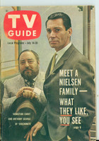 1962 TV Guide Jul 14 Checkmate Missouri edition Very Good to Excellent - No Mailing Label  [Lt wear on cover, contents fine]