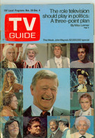 1970 TV Guide Nov 28 John Wayne Eastern Illinois edition Very Good - No Mailing Label  [Sl loose at staples, scuffing on cover; contents fine]