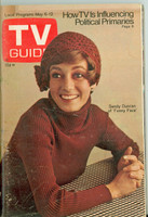 1972 TV Guide May 6 Sandy Duncan Southern Ohio edition Very Good to Excellent - No Mailing Label  [Lt toning along binding; contents fine]