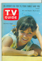 1966 TV Guide May 28 Sally Field as Gidget Western Illinois edition Excellent - No Mailing Label  [Lt wear on cover; contents fine]