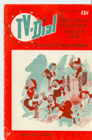 1951 TV Dial Dec 22 Christmas Shows (32 pages) Cincinnati-Dayton edition Very Good - No Mailing Label  [Wear, scuffing and lt creasing on cover, sm paper loss on reverse; contents fine]