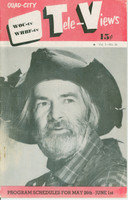 1951 TV Televiews May 26 Gabby Hayes (24 pg) Quad City edition Very Good to Excellent - No Mailing Label  [Partial binding split, lt staple rust; contents fine]