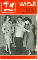 1951 TV TODAY December 8 Johnny Scat Davis (24 pg) Detroit edition Good to Very Good - No Mailing Label  [Heavy wear and minor tearing on cover; contents fine]