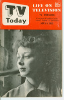 1952 TV TODAY May 3 Stella Andrews (32 pg) Detroit edition Very Good to Excellent - No Mailing Label  [Heavy vertical crease on cover; contents fine]