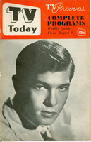 1952 TV TODAY August 2 Johnnie Ray (24 pg) Detroit edition Fair to Good - No Mailing Label  [Both Covers are DETACHED; lt wear, contents fine]