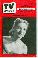 1952 TV News May 16 Ann Buckles Indiana edition Good to Very Good  [Vertical crease, wear and scuffing, lt moisture stain on cover; contents fine]