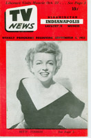 1953 TV News September 4 Betty Furness Indiana edition Very Good to Excellent  [Lt wear on cover; contents fine]