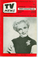 1956 TV News June 29 Vivian Blaine Indiana edition Excellent  [Very clean example]