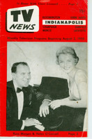 1956 TV News August 3 Russ Morgan & Helen O'Connell Indiana edition Fair to Good  [Heavy wear and soiling on cover; contents fine]