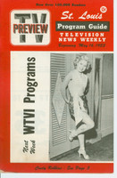 1953 TV PREVIEW May 16 Cindy Robbins (16 pg) St. Louis edition Excellent to Mint - No Mailing Label  [Lt wear on cover, ow clean]