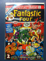 Fantastic Four #10 Annual - #10 Bedlam at the Baxter Building Mar 73 Excellent