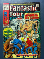 Fantastic Four #102 The Strength of Sub-Mariner Sep 70 Fine