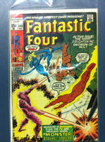 Fantastic Four #105 The Monster in the Streets Dec 70 Very Good