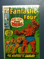 Fantastic Four #107 And Now … The Thing Feb 71 Fine to Very Fine