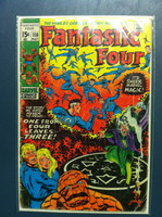 Fantastic Four #110 One From Four Leaves Three May 71 Very Good