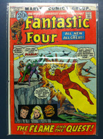 Fantastic Four #117 The Flame and the Quest Dec 71 Very Good