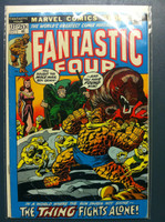 Fantastic Four #127 Where The Sun Dares Not Shine Oct 72 Excellent