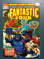 Fantastic Four #145 Nightmare in the Snow Apr 74 Excellent