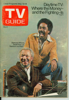 1972 TV Guide May 13 Sanford and Son (First Cover) Montana edition Good to Very Good - No Mailing Label  [Heavy creasing and wear on cover, contents fine]