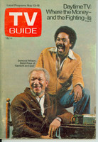 1972 TV Guide May 13 Sanford and Son (First Cover) New Mexico edition Good to Very Good - No Mailing Label  [Heavy creasing and wear on cover, contents fine]