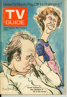 1972 TV Guide May 27 All in the Family Southern Ohio edition Excellent - No Mailing Label  [Lt scuffing on cover; ow very clean]