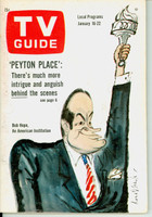1965 TV Guide Jan 16 Bob Hope Northern California edition Very Good to Excellent - No Mailing Label  [Lt wear on cover, ow clean]