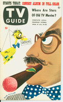 1953 TV Guide Jul 24 Groucho Marx Midwest edition Excellent to Mint - No Mailing Label  [Lt wear on cover, ow clean]